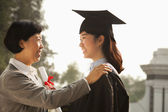 Proud Mother of a Graduate — Stock Photo