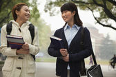 Students on Campus — ストック写真