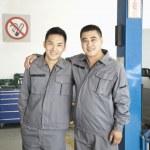 Two Garage Mechanics — Stock Photo #36348905