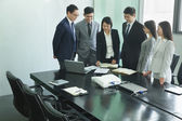Business Meeting in a Conference Room — Stock Photo