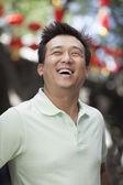 Man in Nanluoguxiang, Beijing — Stock Photo