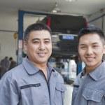 Two Garage Mechanics — Stock Photo #36351109
