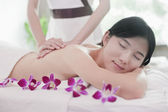 Women Receiving Massage — 图库照片