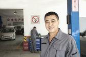 Garage Mechanic — Stock Photo