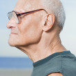 Profile of senior man — Stock Photo #36418761