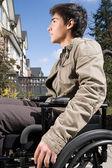 Adolescente con discapacidad — Foto de Stock