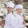 Stock Photo: Two Chefs