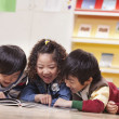 Children Reading — 图库照片