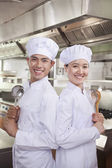 Two Chefs — Stock Photo