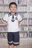 Student Wearing School Uniform — Stock Photo