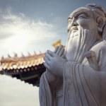 Stone statue of Confucius — Stock Photo #36645021