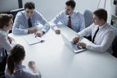 Business people having a business meeting — Stock Photo