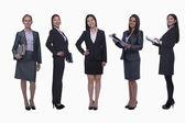 Улыбающиеся деловые женщины — Стоковое фото