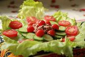 Салат тунца — Стоковое фото