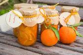 Homemade tangerine marmalade  — Stock Photo