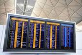Havalimanı uçuş bilgileri — Stok fotoğraf