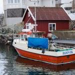 Fishing boat at the dock — Stock Photo