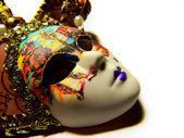 Beautiful masquerade mask isolated — ストック写真