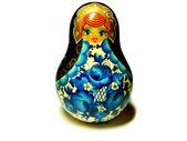 Traditional roly-poly Nevalyashka toy — Stock Photo