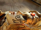 Vackra maskerad mask — Stockfoto