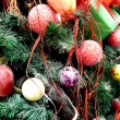 Stock Photo: New Year and Christmas decorations