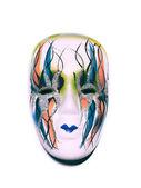 Beautiful masquerade mask isolated — Stock Photo
