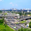 The view of Kyiv city road junction — Stock Photo #47039255