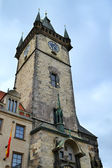 Prague Astronomical Clock in the Old Town of Prague — Stock Photo