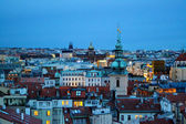 Cityscape of Old Town of Prague in twilights — Foto de Stock