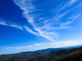 Clouds and beautiful Landscape — Stock Photo