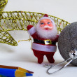 Christmas decoration, santa Claus — Stock Photo