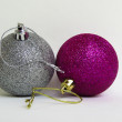 Commemorations Balls Christmas — Stock Photo
