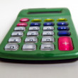 Handheld calculator — Stock Photo