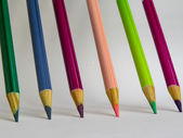 School supplies pencil and eraser — Stock Photo