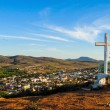 Viewpoint of the cross — Stock Photo