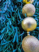 Balls decorations for christmas — Stock Photo