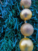 Ornamentation Balls Christmas day — Stock Photo