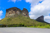 Chapada Diamantina, Valley and mountains — Stock Photo