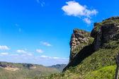Täler und Berge — Stockfoto