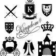 Kingdom icon — Vector de stock #36069369