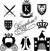Kingdom icon — Stock Vector