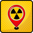 Radiation sign — Stockvektor #36140975