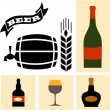 Beer icon vector collection — Stock Vector #36145741