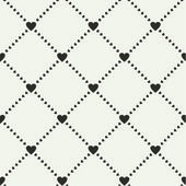 Seamless pattern with hearts — Vetorial Stock