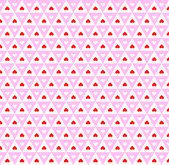 Seamless pattern with hearts — Cтоковый вектор