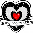 Vector valentine's day icon  — Image vectorielle