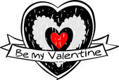 Vector valentine's day icon — Stock Vector