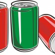 Aluminum Can  — Stock Vector