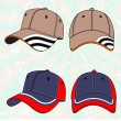 Vector baseball cap — Stock Vector