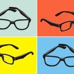 Sunglasses vector — Stock Vector #36832767